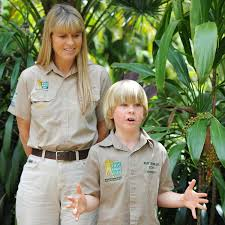 steve irwin son. junior zookeeper robert fed the freshwater crocs, but will soon be ready to move on saltwater crocodiles, known as one of most aggressive and steve irwin son d