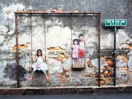 famous street art mural in georgetown penang malaysia stock photo 30671547 on famous wall art in penang with famous street art mural in georgetown penang malaysia stock photo