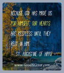 St Augustine Of Hippo Quotes Inspiration St Augustine Of Hippo Archives Good And Great