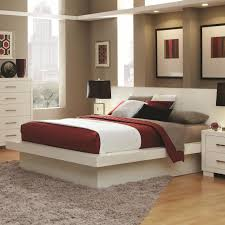 Coaster Jessica 202990KW California King Platform Bed with Rail ...