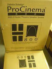 definitive technology procinema 800. new definitive technology procinema 800 speaker system white pro cinema procinema g
