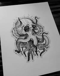 Cthulhu Cthulhu Diseño Ilustracion Diseñotatuaje Desing