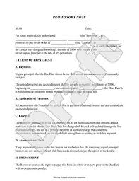 Promissory Note Template 9 Mortgage Promissory Note Free Sample