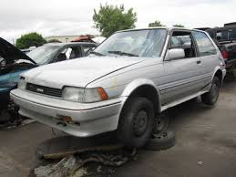 Junkyard Find: 1987 Toyota Corolla GT-S FX16 - The Truth About Cars