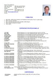 Sample Cover Letter For Waiter Job Dissertation Writing An A Sample Cv In  French ...