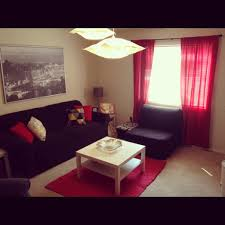 Red Living Room Accessories Red And Black Living Room Decorating Ideas House Decor