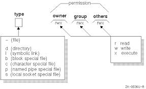 Chmod Chart Unix Permissions