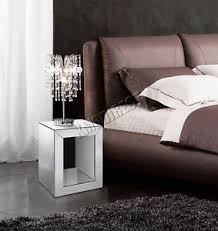 clear glass furniture. Image Is Loading WestWood-Mirrored-Furniture-Clear-Glass -Bedside-Cabinet-Cube- Clear Glass Furniture T