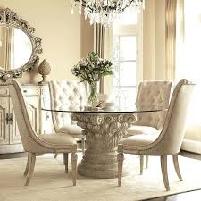 round glass top dining table set dining tables terrific glass top dining table how to decorate