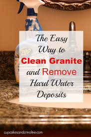 Care Of Granite Countertops In Kitchens 17 Best Ideas About Cleaning Granite Countertops On Pinterest