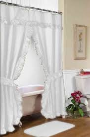 shower curtains with valance and tiebacks pmc in proportions 850 x 1293