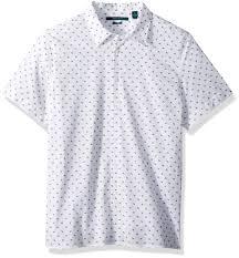 Perry Ellis Size Chart Perry Ellis Mens Long Sleeve Modern Geo Print Shirt Bright White 4dsw4011 Medium