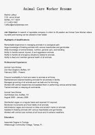 Animal Care Worker Cover Letter Biotech Patent Attorney Cover