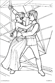 Small Picture Star Wars Coloring Pages Princess Leia Serena Pinterest