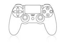Image Result For Controller Ps4 Kleurplaat Ps4 Ps4 Controller