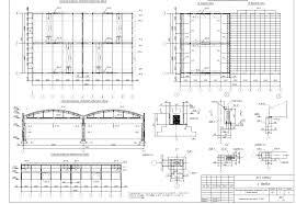 Одноэтажное двухпролетное промышленное здание с полным каркасом  Одноэтажное двухпролетное промышленное здание с полным каркасом