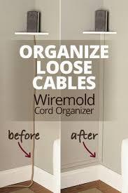 wiremold cornermate cord organizer
