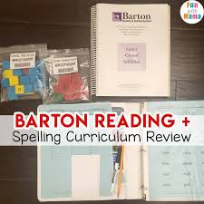 Barton Reading and Spelling Review - Fun with Mama