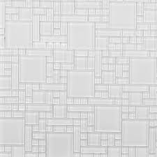 instant mosaic l and stick pure white 12 in x 12 in x 6