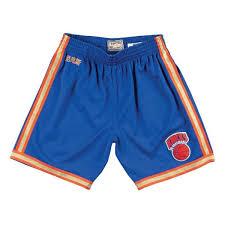 Adidas Nba Shorts Size Chart Details About Mens Mitchell Ness Nba Cny Swingman Shorts Ny Knicks 91