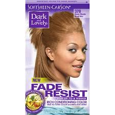 Softsheen Carson Dark And Lovely Fade Resist Rich Conditioning Hair Color Permanent Hair Dye 378 Honey Blonde