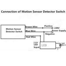 motion detector wiring diagram efcaviation com pir wiring instructions at Honeywell Pir Sensor Wiring Diagram