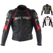 ke top sport gp motorbike leather jacket for men