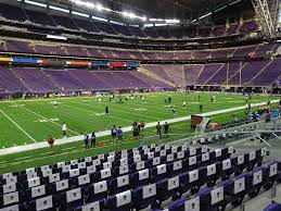 Us Bank Stadium View From Section 132 Vivid Seats