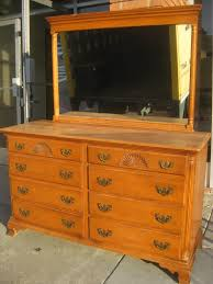... Home:Lovely Solid Wood Dresser 23 Furniture Old Hard Rock Makeup Bedroom  Vanity Maple With ...