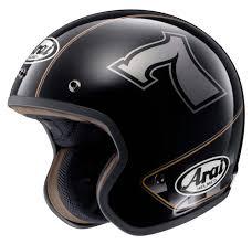 Arai Signet Q Arai Freeway Classic Cafe Racer Jet Black
