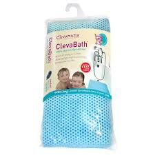 clevamama clevabath extra long non slip bath mat 0