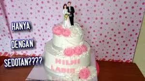 Membuat Kue Ultah Tingkat How To Make A Birthday Cake Algian