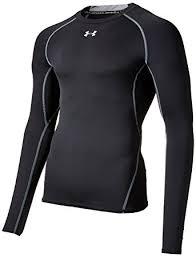 under armour heat gear. under armour men\u0027s heatgear longsleeve compression t-shirt - black, x-small heat gear r