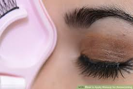 image led apply makeup for homeing step 17