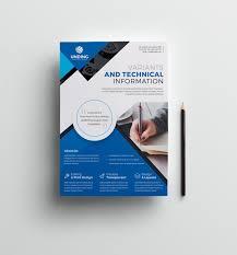 033 Template Ideas Free Psd Business Flyer Design