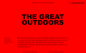 brutalist websites the great outdoors interview