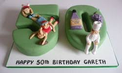 50th And 60th Birthday Cakes By Fun Cakes