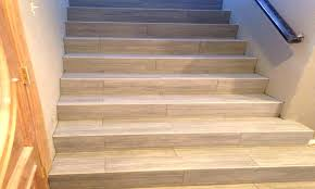 wood stair nose for tile stair tile stair for carpet tile how to install tile stair