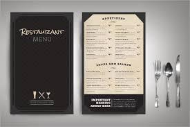 Restaurant Menu Layout Ideas 54 Restaurant Menu Templates Design Psd Docs Pages Free