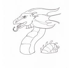 Cool Dragon Easy Coloring Pages Easy Coloring Book Pages Radiokotha