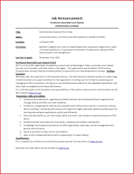 Administrative Assistant Resume Samples Free Skills List Executive