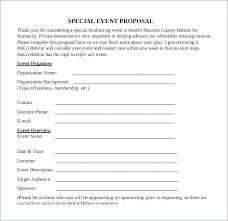 Event Planning Proposal Event Planning Proposal Inspirational Free Sample Best