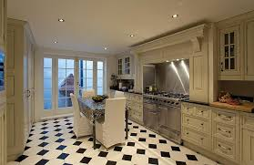 classic kitchen floor tile patterns black and white checd