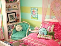 Pink And White Girls Bedroom Teal And Pink Bedroom Decor
