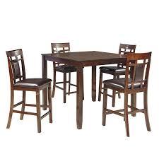 bennox 5 piece counter height dining set