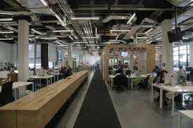 dublin office space. Pictured: Airbnb\u0027s Dublin Offices, As Designed By Architects Heneghan Peng. The Open Plan Space Contains A Reception Area Modelled After Pub, Office E