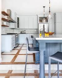 Ceramic Kitchen Floors Designs Kitchen Flooring Ideas Combining Wood And Ceramic Tiles