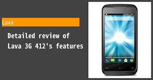 Lava 3G 412 ...
