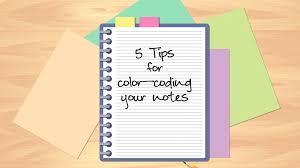 5 Tips For Color Coding Your Notes Study Com