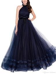 Halter Gown Designs 2019 New Design Gorgeous Halter A Line Evening Dress Elegant Beautiful Dresses Cheap Sexy Evening Formal Gowns Long Elegant Evening Dresses Long